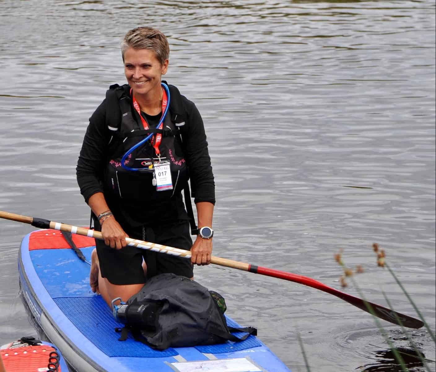 Anu Aladin SUP Instructor Paddleboarding London in Camden