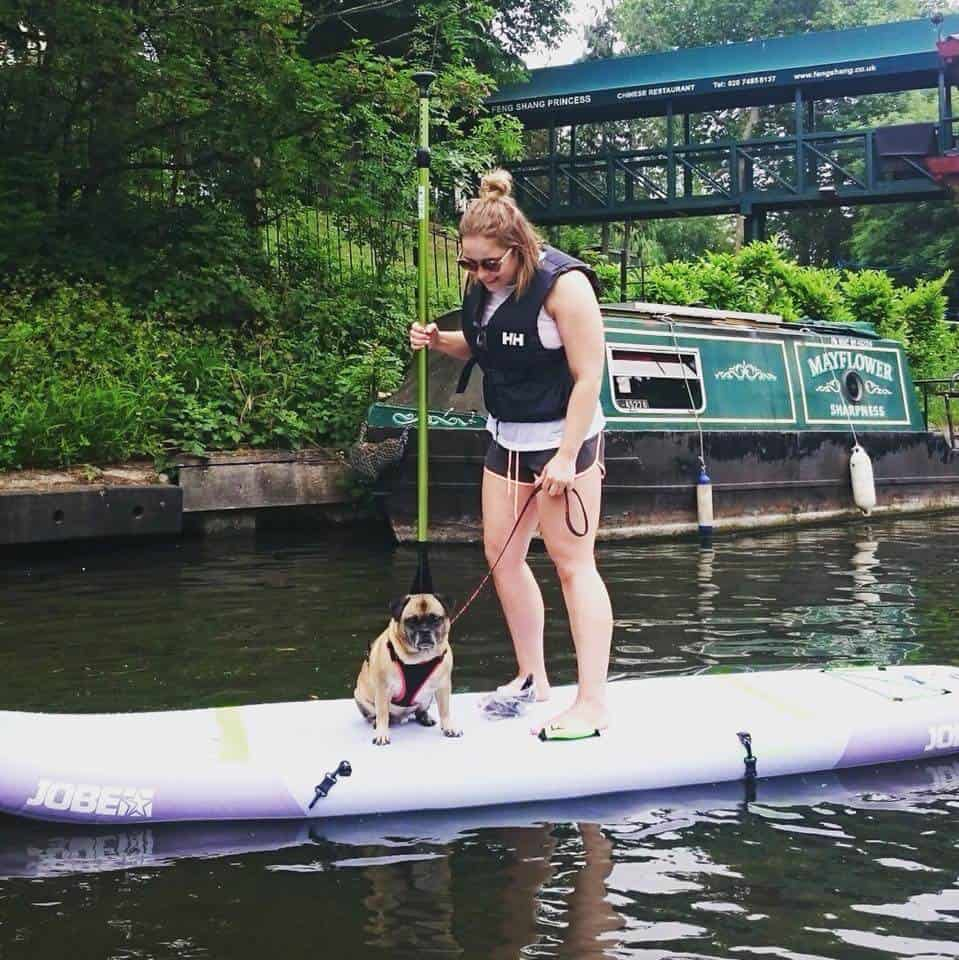 Rachael Ayre Paddleboarding Instructor Paddleboarding London in Camden