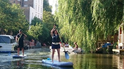 Paddleboarding Regent's Park