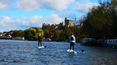 SUP Windsor -paddleboarding Windsor Castle