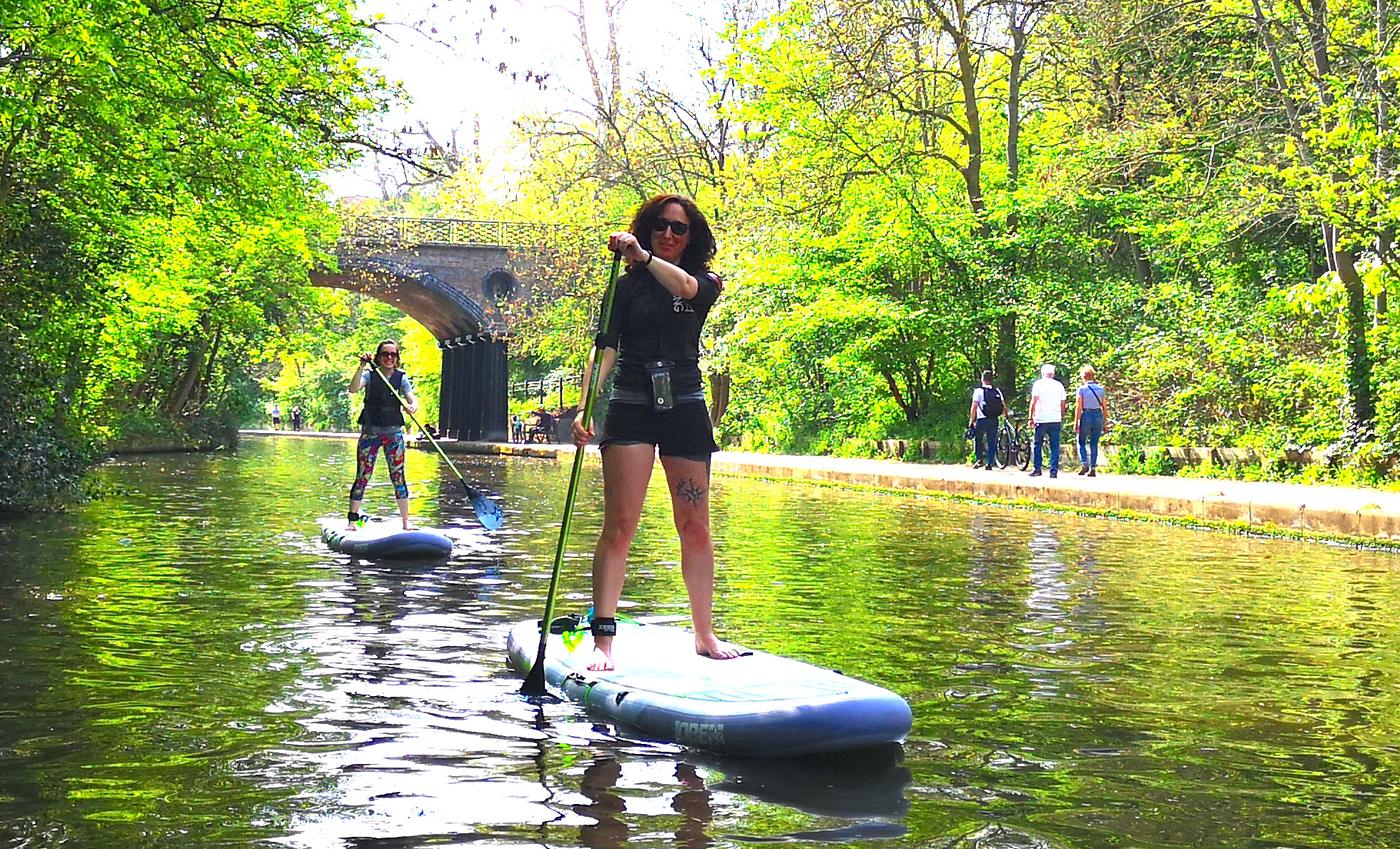 Lesley Robinson SUP Instructor Paddleboarding London