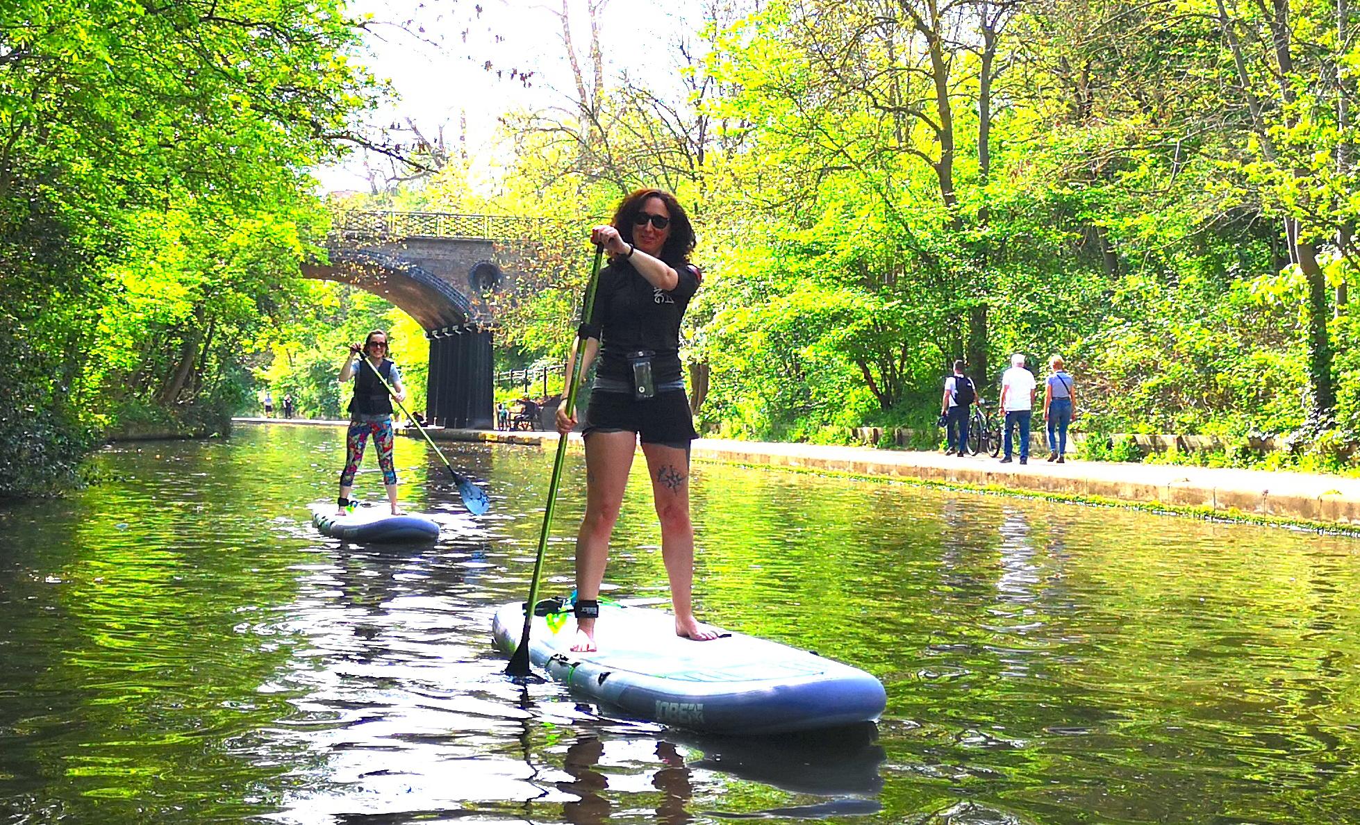 Lesley Robinson SUP Instructor Paddleboarding London