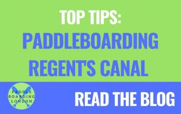 Top Tips for Paddleboarding Regent's Canal