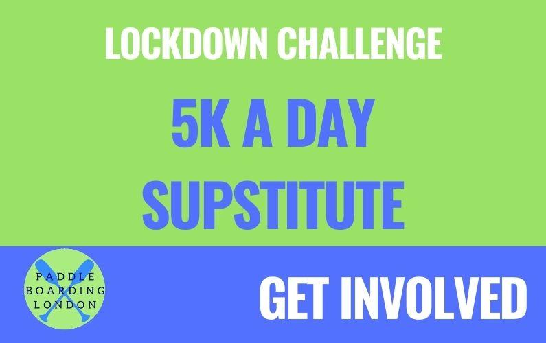 SUP & Social Lockdown Challenge